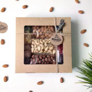 Орешки в крафт коробочке Краснодаор