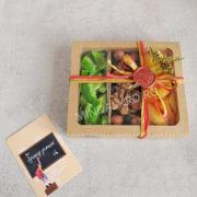 Коробка Слайдер с орехами